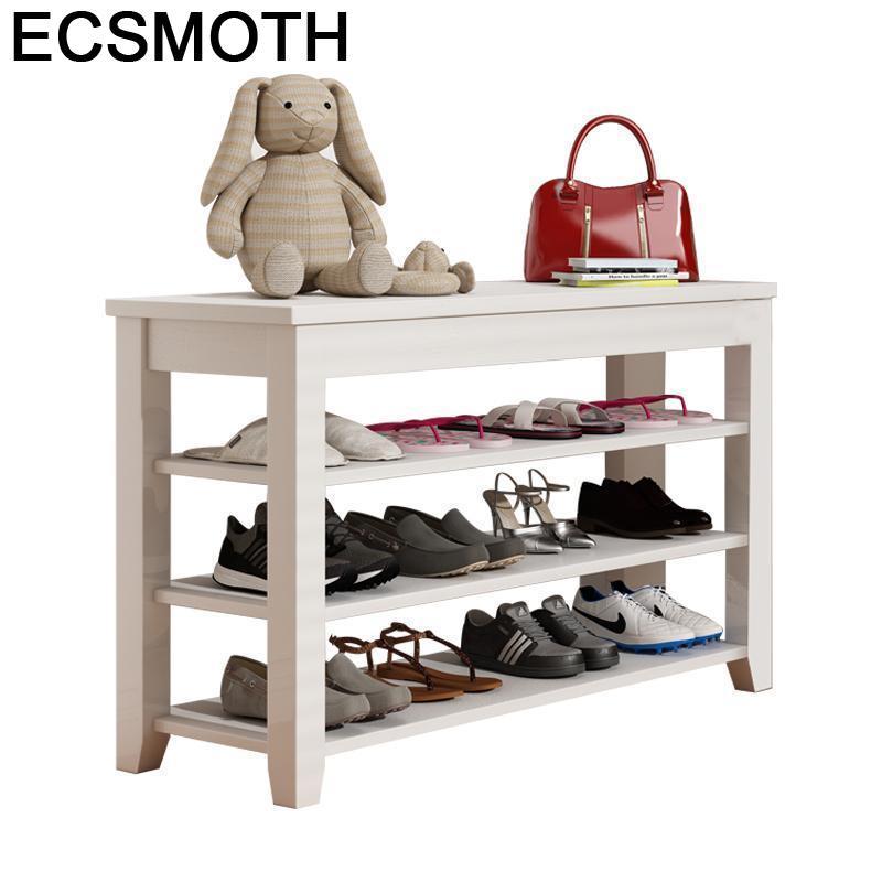 El Hogar Zapatero Organizador Zapato Storage font b Closet b font Meuble Armoire De Rangement Mueble