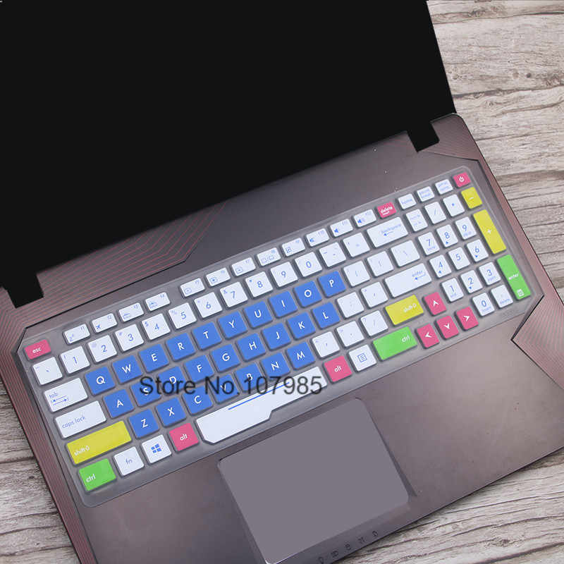High Clear Transparent Tpu Keyboard Cover protectors skin guard For Asus ZX53 ZX53VD ZX53VE ZX53VW 15.6