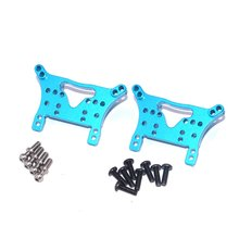 Aluminum Front&Rear Shock Tower Shocking Proof Plate For WLtoys A959/A949/A969/A979/K929-B HSP 1/18 RC Car Upgrade Parts