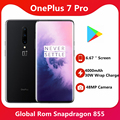 Globale Rom Oneplus 7 Pro Smartphone 6,67 Zoll 3120*1440 Android 9 Snapdragon 855 48,0 MP Kameras NFC 5V 6A Ladegerät Handy