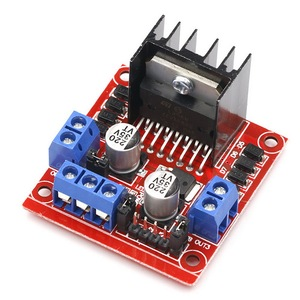 L298N Motor Driver Board Module Stepper Motor Smart Car  Breadboard Peltier L298N High Power For Arduino Motor Driver