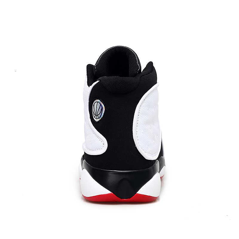 Boussac da 2019 Uomini di Pallacanestro Scarpe di Alta Top Ammortizzazione Jordan Scarpe da Ginnastica All'aperto Retro 13 Jordan Scarpe da Basket Stivali