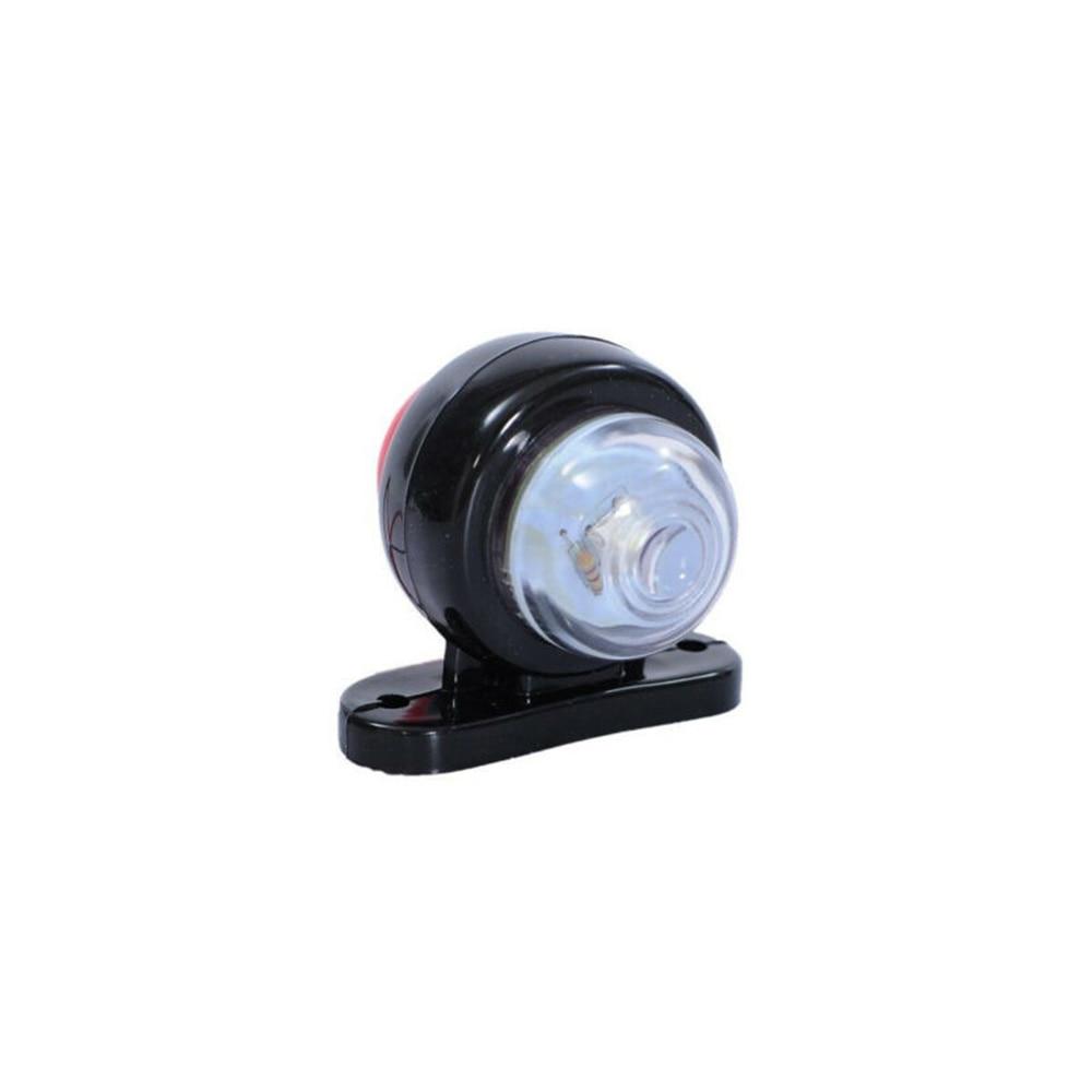 4 X LED Red White Side Marker Lights Outline Lamps Car Truck Trailer Van 12V/24V