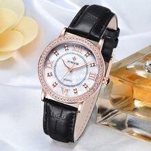 Роскошные Кварцевые часы wwoor со стразами женские наручные