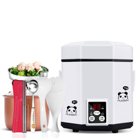 Fully Automatic Mini Rice Cooker 1 3 People Reservation Multifunction Household Intelligent Rice Cooker 1.2L 200W