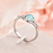 Fashion Women's Wedding Rings Silver Jewelry Moonstone Ring Size 6-10 Engagement Ring Anillos Mujer Vintage Cubic Zirconia Ring