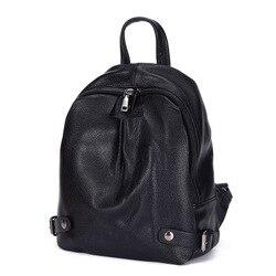 Frauen rucksack hohe qualität leder rucksack mini rucksack top verkauf auf Förderung kostenloser versand für mädchen