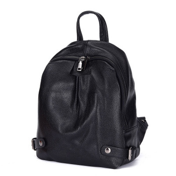 Women backpack high quality leather backpack mini backpack top selling on Promotion free shipping for girls