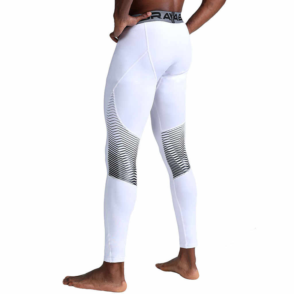 Pria Running Tights Celana 2020 Baru Pria Olahraga Legging Olahraga Cepat Kering Bernapas Kompresi Gym Kebugaran Pantalones Hombre