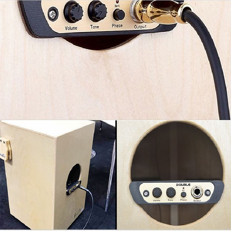 Cajon Drum Pickup Musical Instrument  Drum Accessories Live System Percussion Pickup