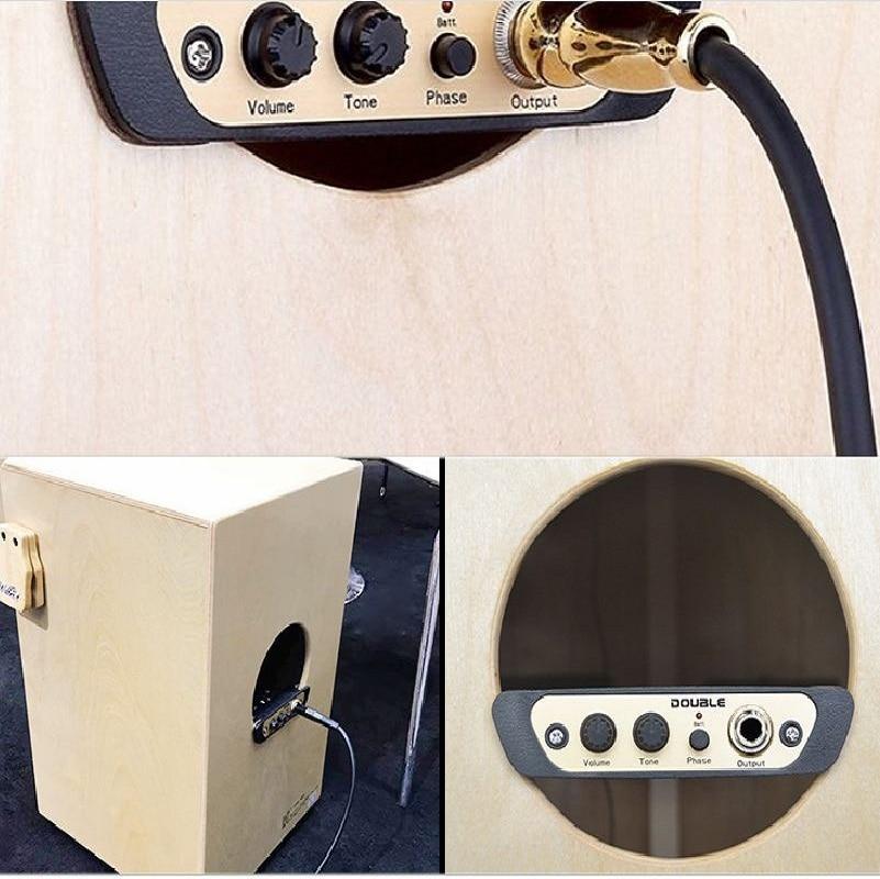 Cajon Drum Pickup Musical Instrument  Drum Accessories Live System Percussion Pickup