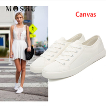 White Sneakers Women Casual Shoes Female Canvas Sho