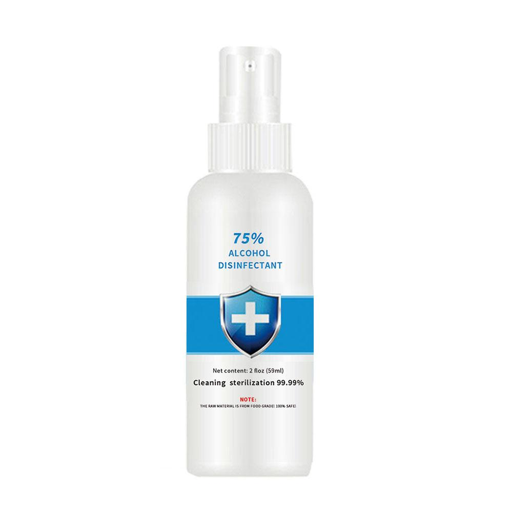 59/100ml 75% Alcohol Disposable Disinfection Home Or Car Cleaners Antiseptic Skin Cleaning Disinfectant Spray Hand Sanitizer Gel