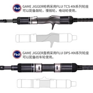 Image 3 - MADMOUSEญี่ปุ่นเต็มรูปแบบFujiอะไหล่ช้าJigging Rod 1.98M PE 3 6น้ำหนักล่อ150 400G 20kgsปั่น/หล่อเรือRod Rodมหาสมุทร