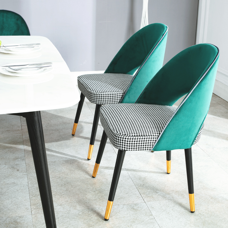 Modern And Simple Scandinavian Solid Wood Chairs And Chairs Leisure Restaurant