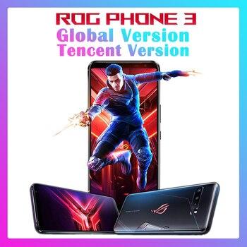 Купить 2020 Asus ROG phone 3 Snapdragon 865 / 865 плюс ROG3 игровой телефон 6000 мА/ч, Батарея 128/256/512G NFC 4G 5G смартфон ROG phone 3