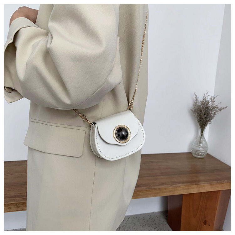Mini Fashion Pu Soild Color Saddle Bags For Women Small Bag Leather Handbags And Lady Shoulder Bags Cross Body Bag (11)