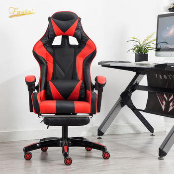 Professional Computer gaming chair DNF LOL Internet Cafes Sports Racing armchair Chair WCG Play Gaming lounge chair Office Chair yk 2 wcg computer chair racing synthetic leather gaming chair internet cafes comfortable lying household chair