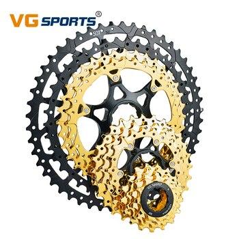 VG SPORTS 9 10 11 12 prędkości Velocidade MTB rower górski kaseta oddzielne Cassete koło zamachowe wspornik zębatka 40T 42T 46T 50T 52T
