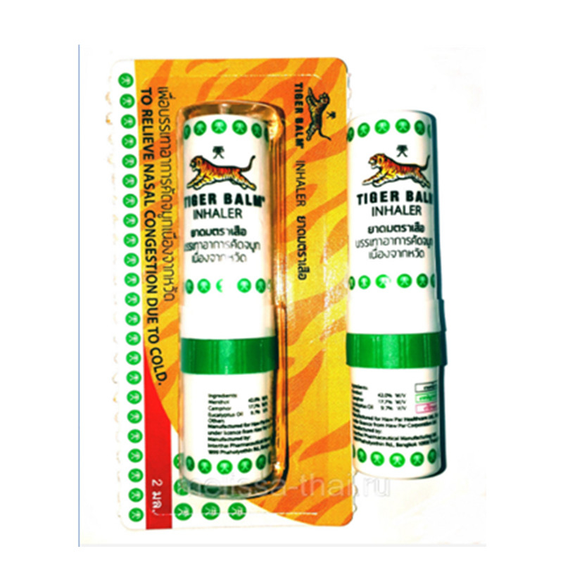 6x Tiger Balm Inhaler Pocket Herbal Relax Relieve Nasal Congestion Dizziness