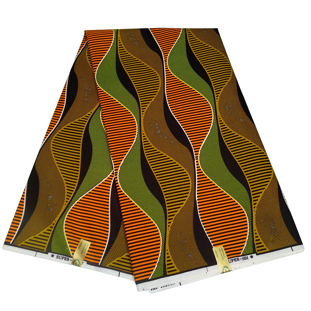 Ankara Soft Cotton Green Fabric New Holland Africa Clothing Fabric African Fabric For Party Dress Y630