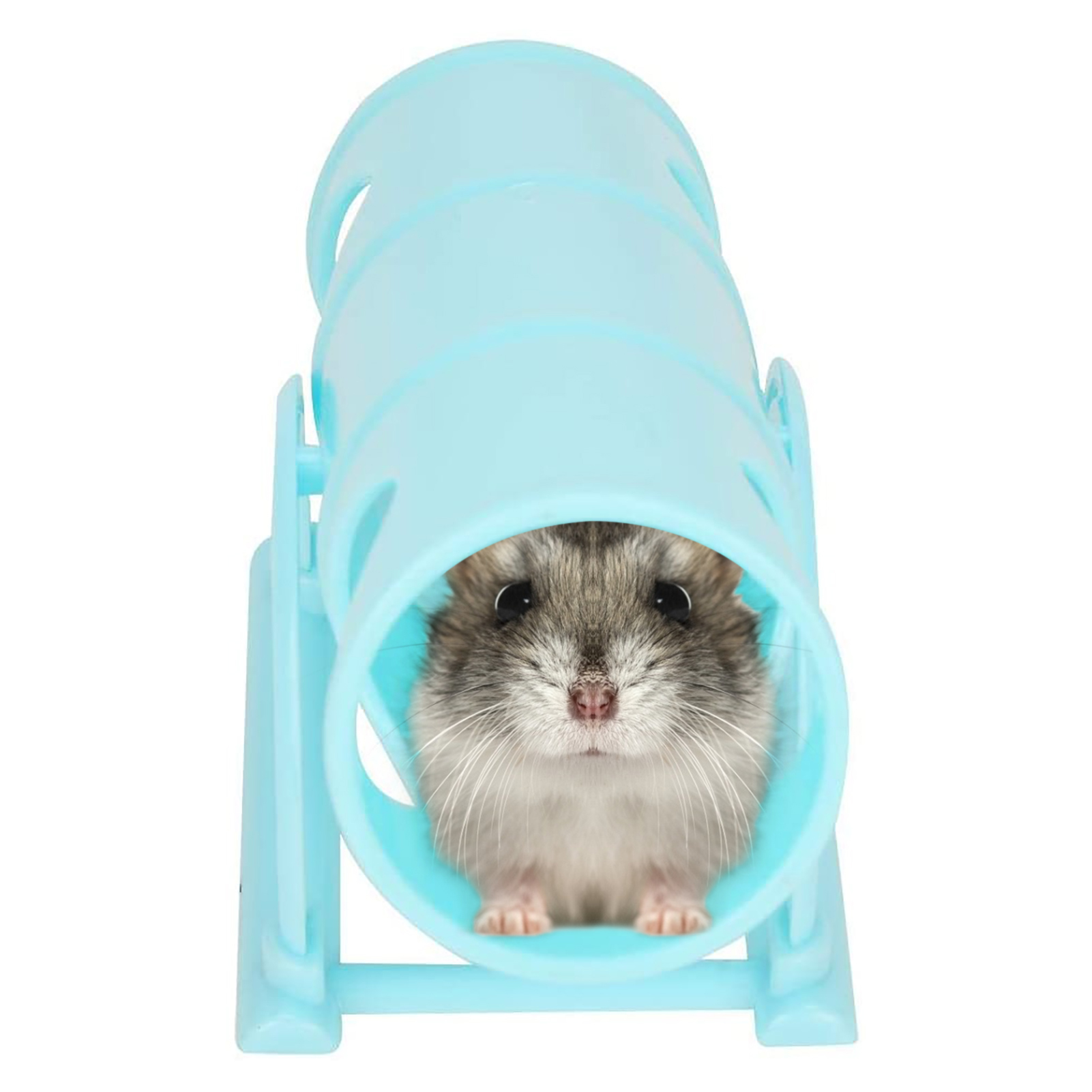 Small Animal Seesaw Hamster Daily Necessities Pet Sport Toy Intelligence Fun Upturned Bucket Tunnel Tube Hamster Toy Pet Supplie