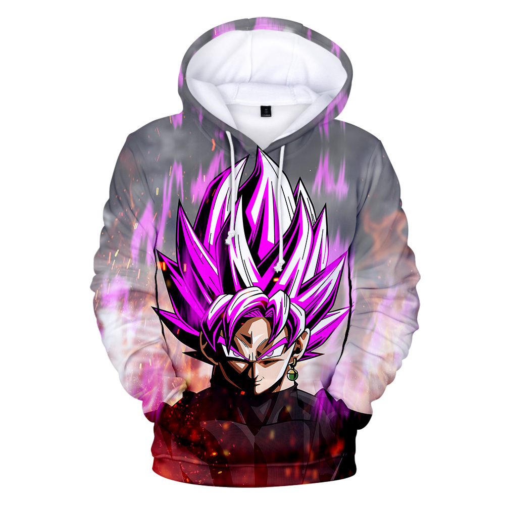 3D Anime Printed Dragon Ball Hoodie Men And Women Z Dragon Ball Sweatshirt Child Goku Pocket Student Fashion Harajuku Hoodie