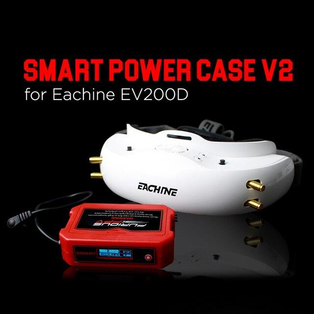הכי חדש FuriousFPV חכם חשמל מקרה V2 עבור EV200D FPV משקפי עבור RC מזלט DIY אביזרי החלפת חלקי