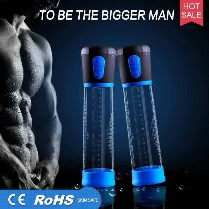 Electric Penis Pump Automatic Penis Enlargement Stronger Vacuum Penis Enlarger Suction Penis Extender Sex Toy Male Enhancement