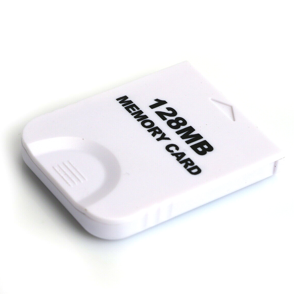 Gaming Storage Replacement White Large Capacity Practical Professional Memory Card 128MB Saver High Speed For Wii Gamecube image