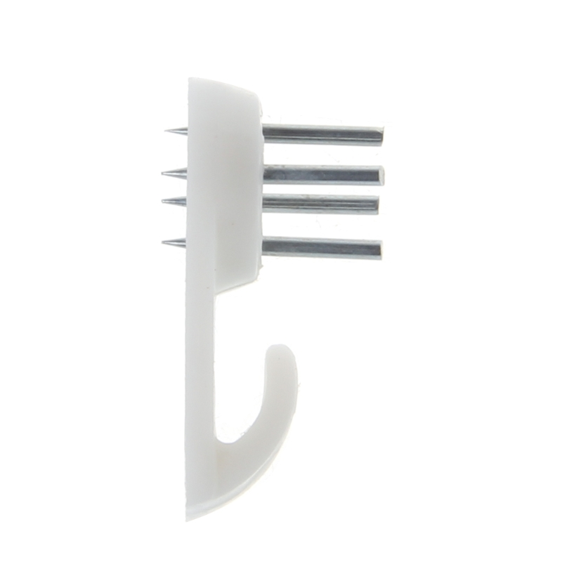 50 Pcs Plastic Invisible Traceless Wall Mount Photo Picture Frame Nail Hook Hanger C90D