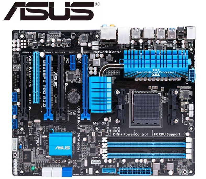 ASUS M5A99FX PRO R2.0 Original Motherboard For  DDR3 For AMD AM3+ 32GB 990FX UsedDesktop Motherborad Boards