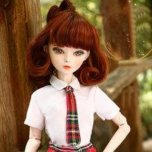 Original Handmade 60cm Lifelike Fashion Student School Girls Dolls Bjd 1/3 Doll Large Jointed Toy Doll Toys for Children  Gift