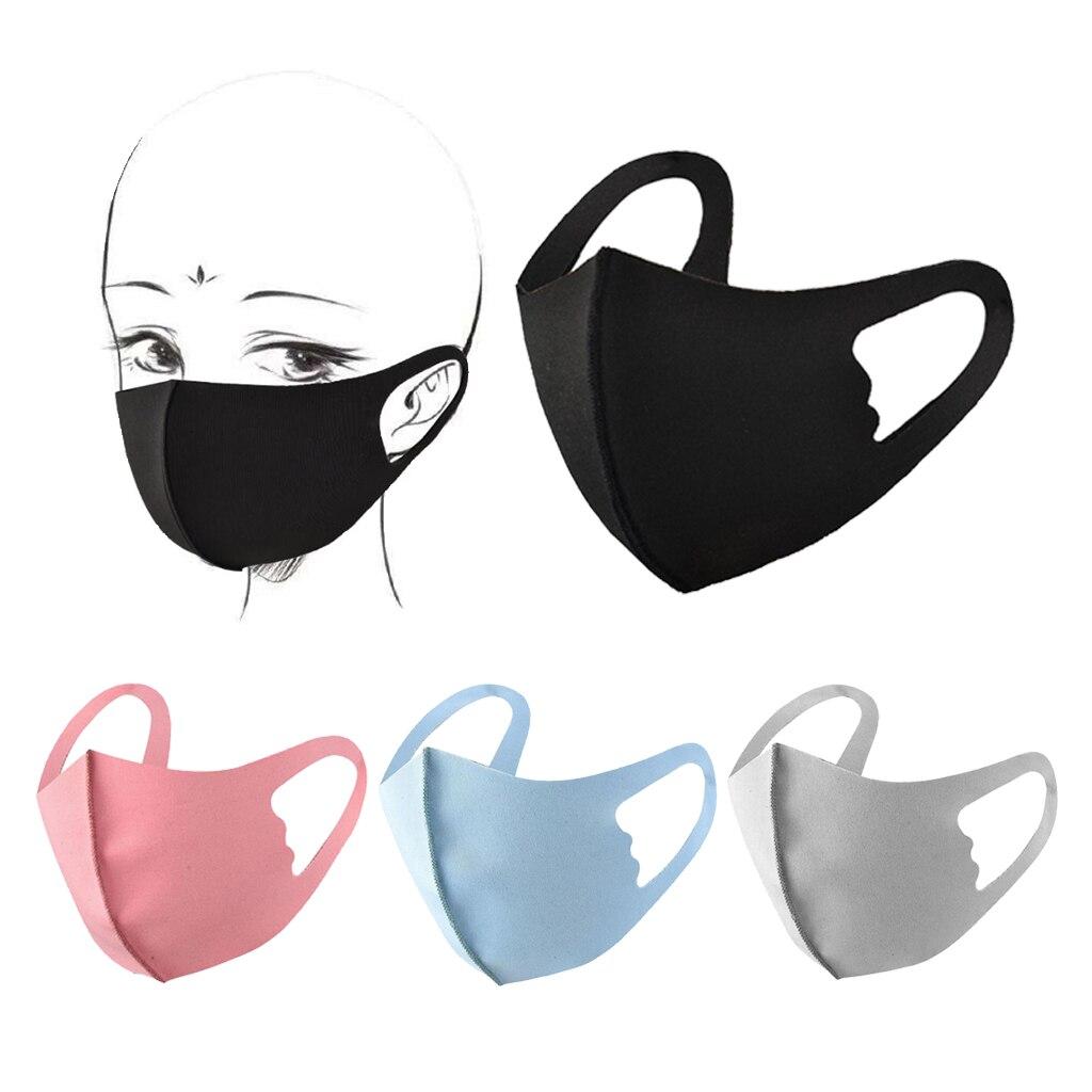 1Pcs Sponge Mouth Mask Washable Dustproof Reusable Anti-pollen Face Mask Adult Kid For Adult Kids Health Cotton Mouth Mask