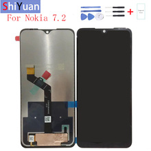 Original 6.3For Nokia 7.2 LCD Display Touch Screen Digitizer Assembly Replacement For TA-1193 TA-1178 TA-1196