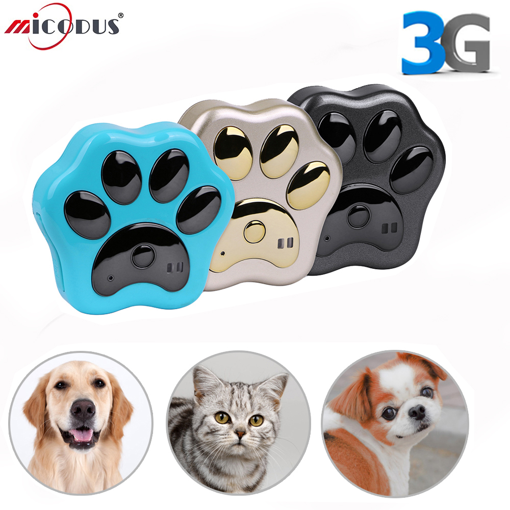 3G GPS Tracker Dog Pet Smart Cats dogs Tracking Device For Pets Voice monitor Waterproof Anti lost WiFi Global RF V40 Free App|GPS Trackers| |  -