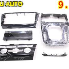 Radio-Frame-Panel Passat B8 for VW Cd-Plates Air-Conditioning-Switch-Plates Piano Paint