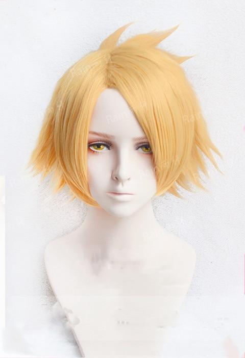 Anime My Hero Academia Uraraka Ochako Cosplay Wig