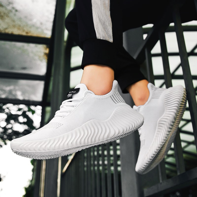 Hot Style Shoes Men High Quality Sneakers Male Mesh Breathable Gym Men Casual Shoes Big Size