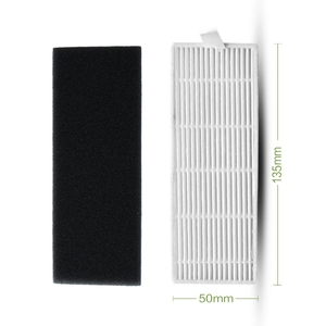 Image 2 - Primary Dust Hepa Filter for Ilife A6 Ilife X620 X623 X660 Robot Vacuum Cleaner Parts Primary Dust Filter Replacement