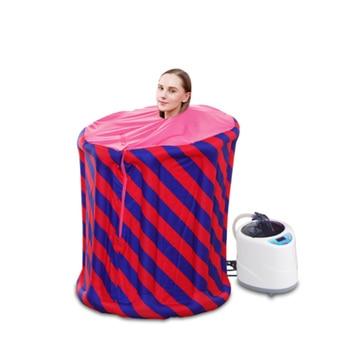 Inflatable Steam Sauna SPA 4L 2KW EU Plug Portable Sauna STEAM BATH Lose Weight Detox Therapy Steam Shower Cabin Hammam SPA
