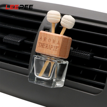 Car-Perfume-Bottle Air-Freshener Auto-Ornament Essential Glass LEEPEE for Oils Car-Styling