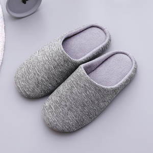 Mntrerm Slippers Winter Shoes Soft-Bottom Cotton Plush Warm Indoor Men Cute