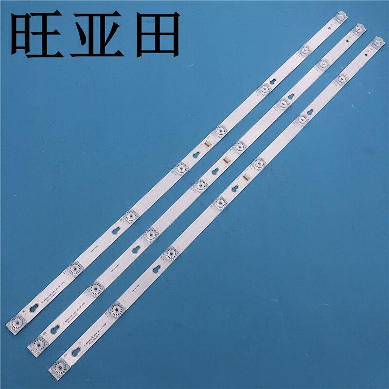 TCL L40P1A-F Light Bar TOT-40D2900-3X8-3030C YHA-4C-LB4008-YH07J Total Length 69CM 3 Light Bars