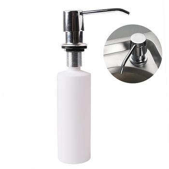 300ML Kitchen Sink Soap Dispenser Bathroom Liquid Soap Organizer Container Plastic Press Pump Detergent Hand Sanitizer Bottle 1