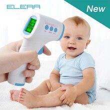 ELERA инфракрасный Лоб Детский термометр цифровой Blacklight Fever lcd бесконтактный температура тела Детский термометр