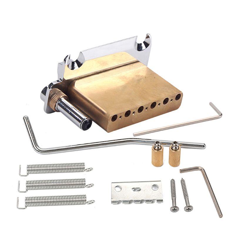 Elektrische Gitaar Tremolo Systeem Messing Brug Zadels M7DC - 2