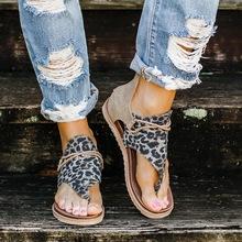 2020 damskie sandały wzór w cętki letnie buty damskie duże rozmiary Andals płaskie damskie sandały damskie letnie buty sandały tanie tanio MoneRffi Gladiator Mieszkanie z Otwarta RUBBER Mieszkanie (≤1cm) Na co dzień Pasuje mniejszy niż zwykle proszę sprawdzić ten sklep jest dobór informacji