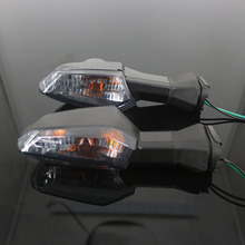 ل كاواساكي النينجا 650 NINJA650 ER6N ER 6F ER 6N 6F Z 800 1000 دراجة نارية الجبهة/الخلفية بدوره ضوء مؤشر الإشارة الوامض مصباح