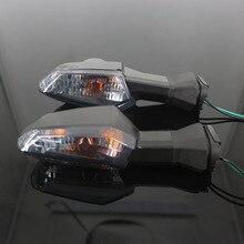 Per KAWASAKI NINJA 650 NINJA650 ER6N ER 6F ER 6N 6F Z 800 1000 Moto Anteriore/Posteriore Indicatore di Direzione luce Lampeggiante Della Lampada